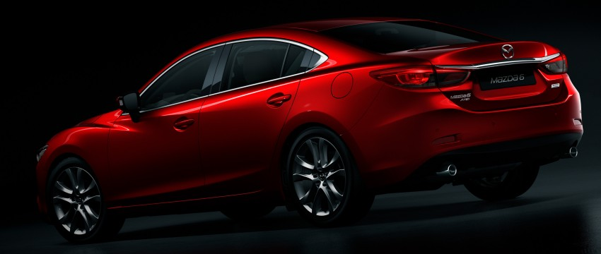 Mazda 6 facelift unveiled at the 2014 LA motor show Image #289565