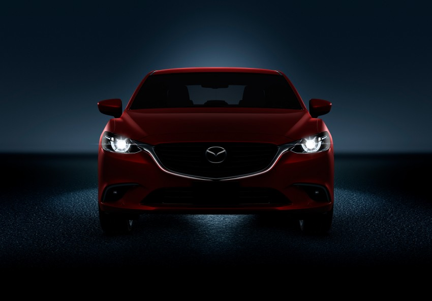 Mazda 6 facelift unveiled at the 2014 LA motor show Image #289570