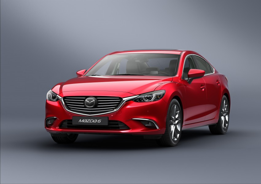 Mazda 6 facelift unveiled at the 2014 LA motor show Image #289548