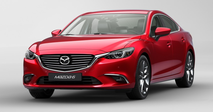 Mazda 6 facelift unveiled at the 2014 LA motor show Image #289551