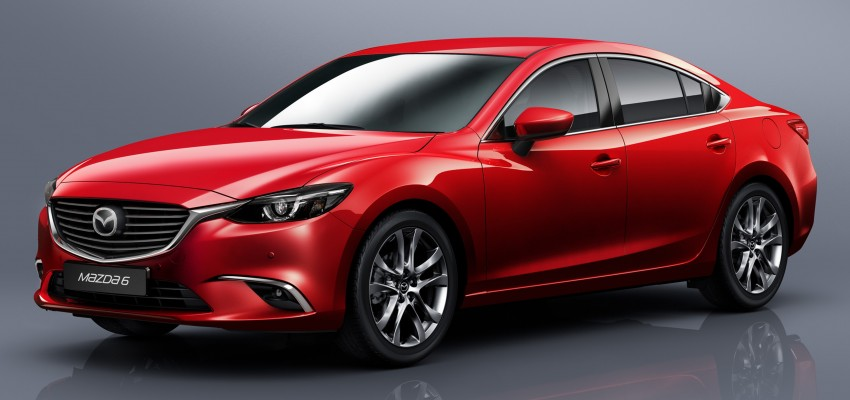 Mazda 6 facelift unveiled at the 2014 LA motor show Image #289555