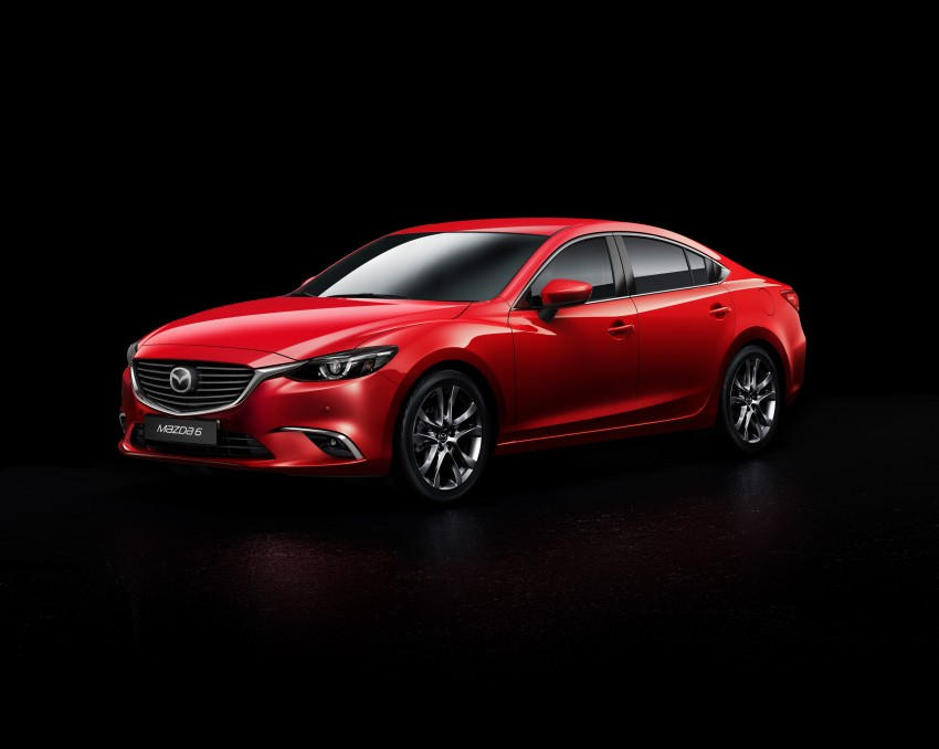 Mazda 6 facelift unveiled at the 2014 LA motor show Image #289558