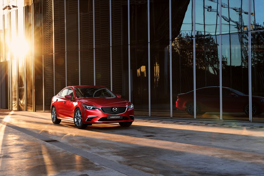 Mazda 6 facelift unveiled at the 2014 LA motor show Image #289552