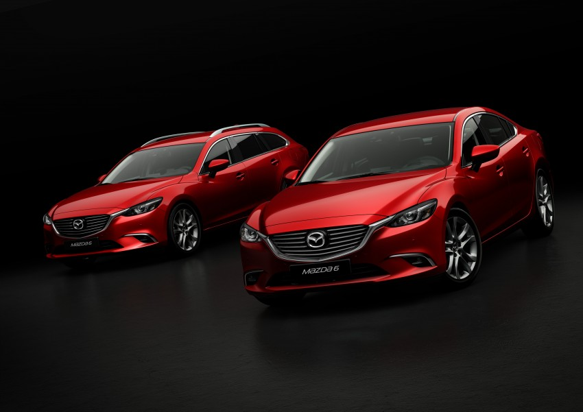 Mazda 6 facelift unveiled at the 2014 LA motor show Image #289562