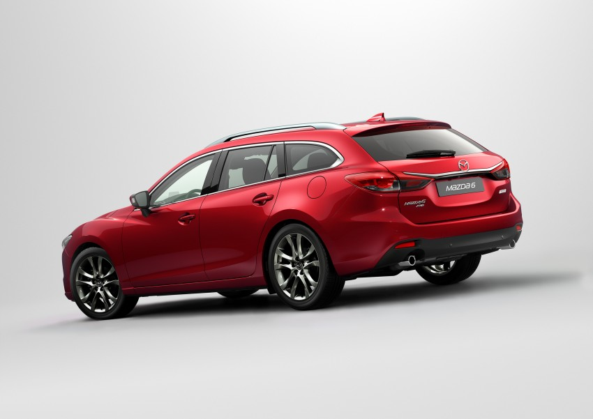 Mazda 6 facelift unveiled at the 2014 LA motor show Image #289563
