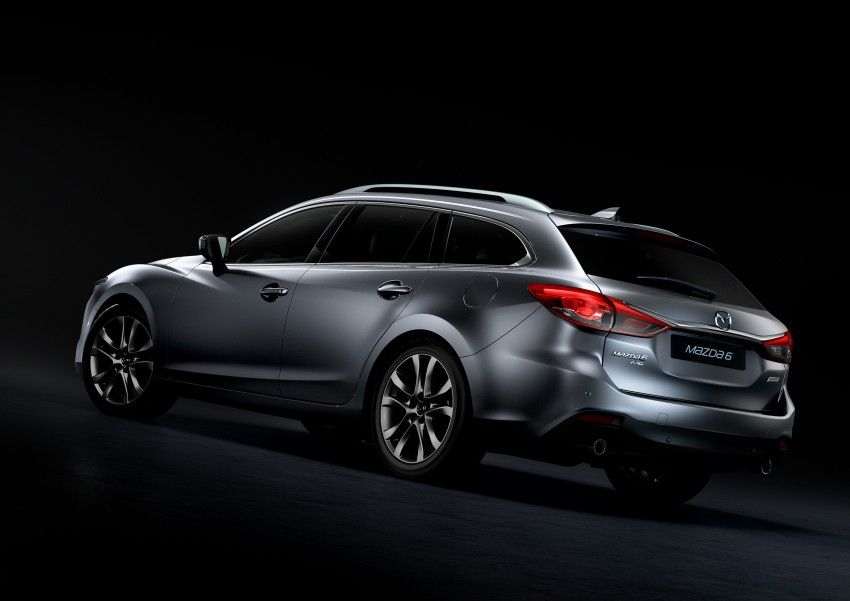 Mazda 6 facelift unveiled at the 2014 LA motor show Image #289564