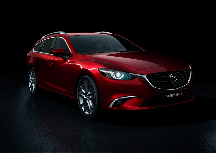 Mazda 6 facelift unveiled at the 2014 LA motor show Image #289556