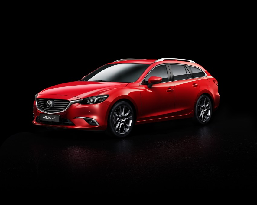 Mazda 6 facelift unveiled at the 2014 LA motor show Image #289553