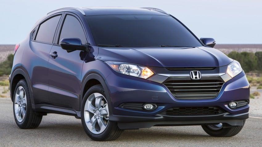 Honda HR-V – US-spec gets 1.8L, six-speed MT option Image #289739