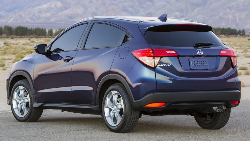 Honda HR-V – US-spec gets 1.8L, six-speed MT option Image #289746