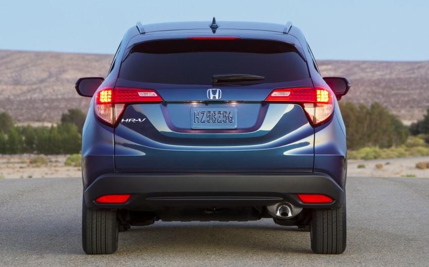 Honda HR-V – US-spec gets 1.8L, six-speed MT option Image #289747