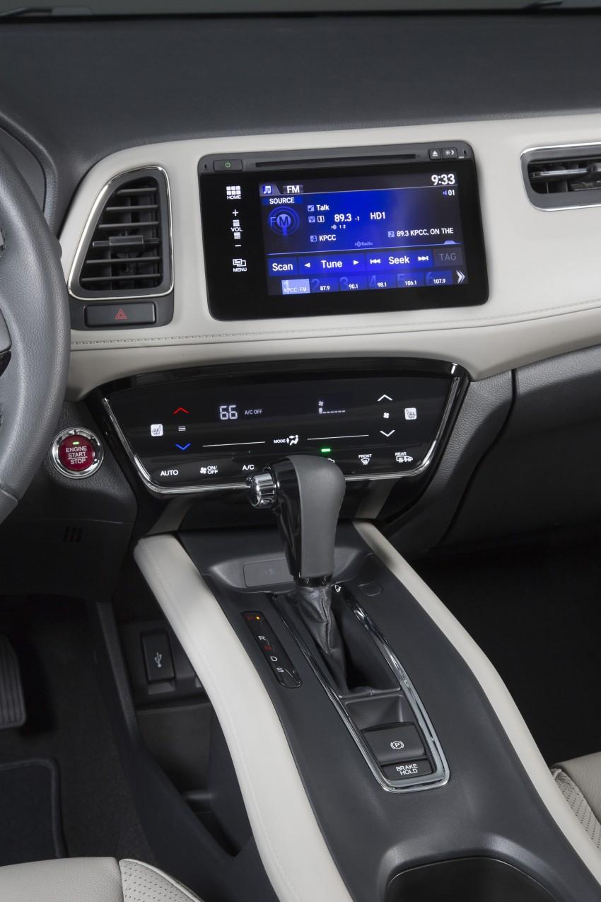 Honda HR-V – US-spec gets 1.8L, six-speed MT option Image #289723