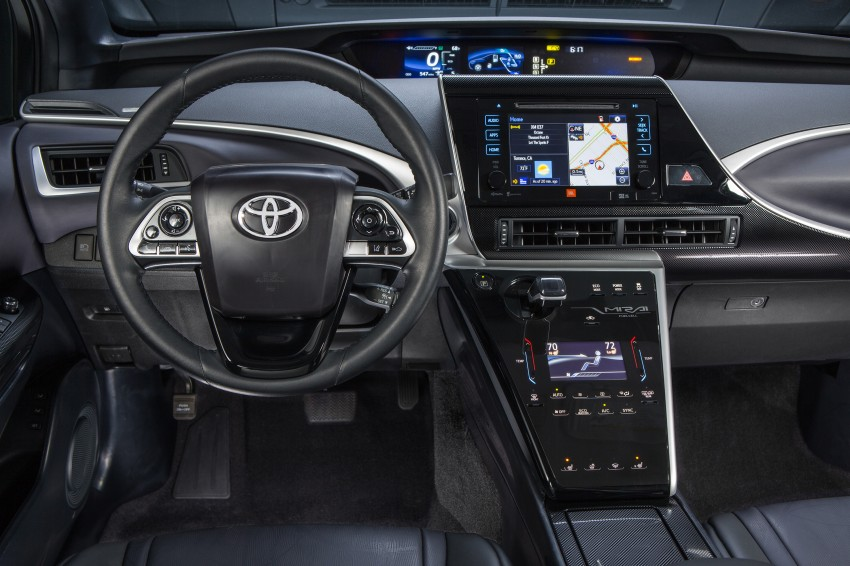 Toyota Mirai fuel cell vehicle officially revealed; touts a range of 483 km, available in second quarter of 2015 Image #288822
