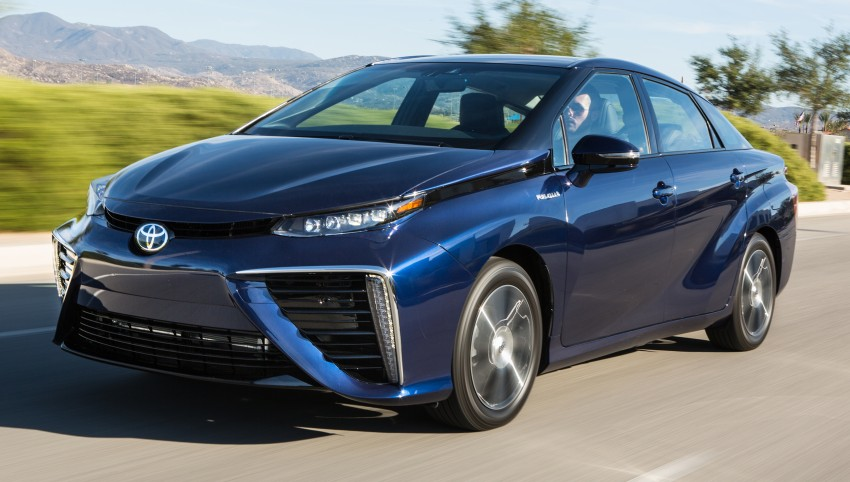 Toyota Mirai fuel cell vehicle officially revealed; touts a range of 483 km, available in second quarter of 2015 Image #288815