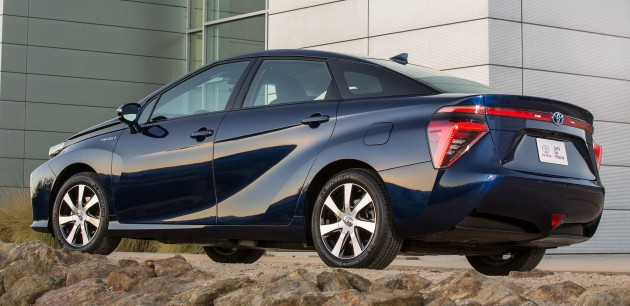 Toyota Makes Available Hydrogen Fuel Cell Patents Royalty