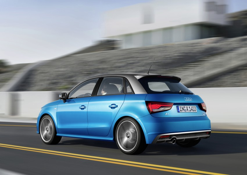 Back to Story: Audi A1, A1 Sportback facelifted to match S1's looks