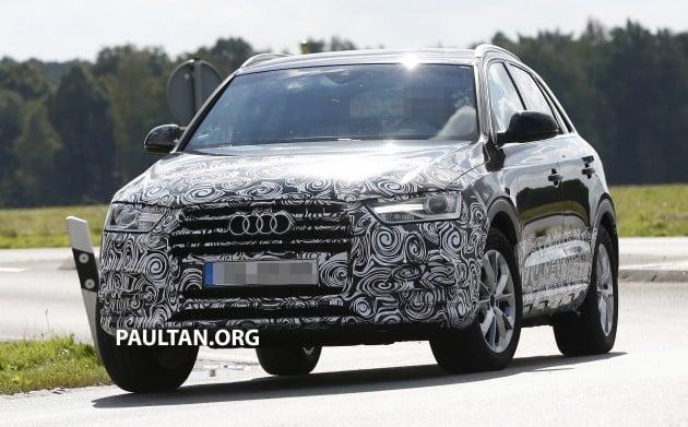 Audi Q3 FL 1 marked