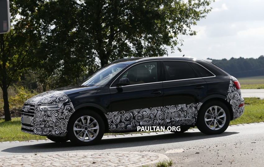 SPYSHOTS: Audi Q3 facelift captured testing Image #285042