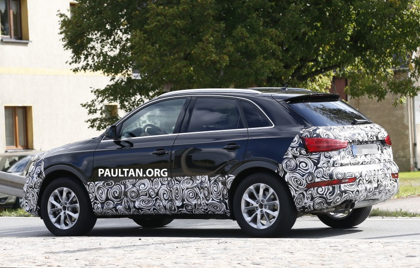 SPYSHOTS: Audi Q3 facelift captured testing Image #285044