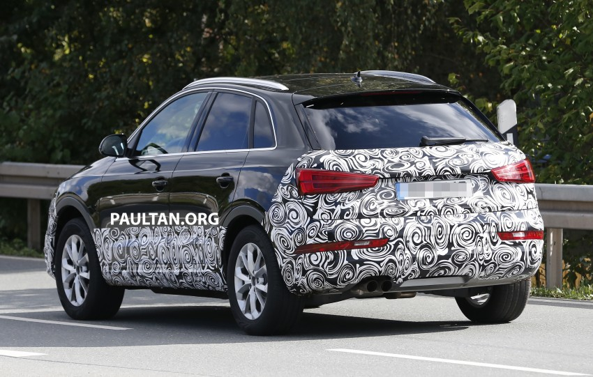 SPYSHOTS: Audi Q3 facelift captured testing Image #285045