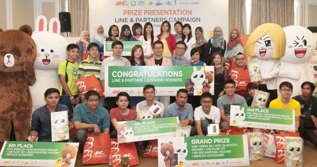 BHPetrol, LINE & Partners Contest winners named