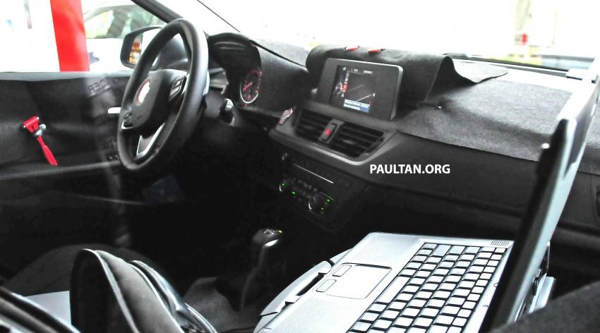 SPYSHOTS: F52 BMW 1 Series Sedan interior captured Image #286156