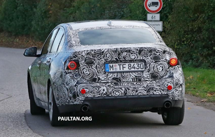 SPYSHOTS: F52 BMW 1 Series Sedan interior captured Image #286149
