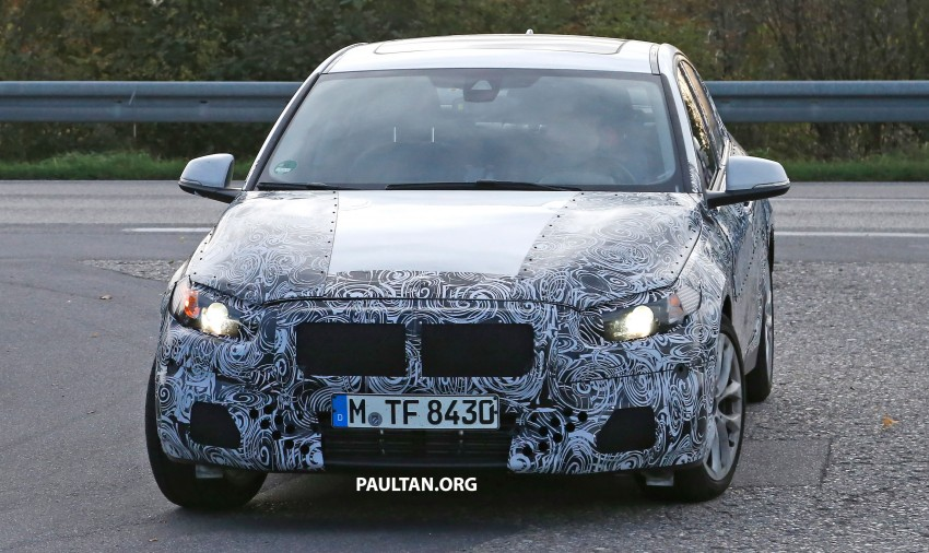 SPYSHOTS: F52 BMW 1 Series Sedan interior captured Image #286154