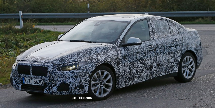 SPYSHOTS: F52 BMW 1 Series Sedan interior captured Image #286152