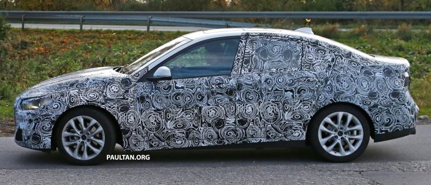 SPYSHOTS: F52 BMW 1 Series Sedan interior captured Image #286148