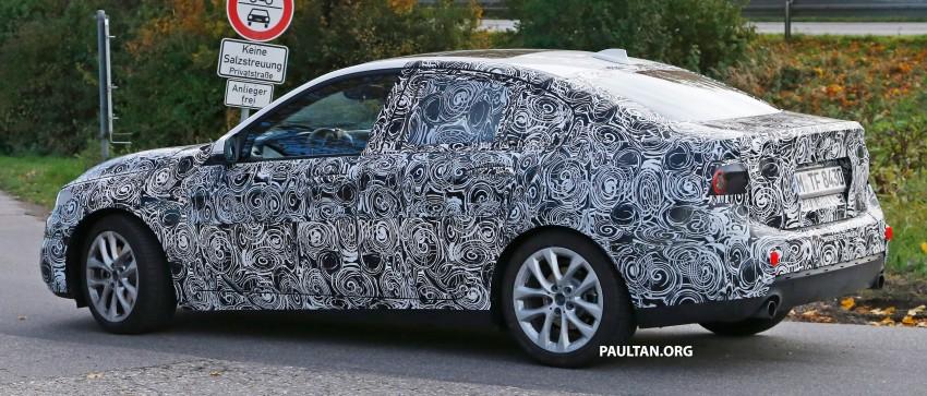 SPYSHOTS: F52 BMW 1 Series Sedan interior captured Image #286147