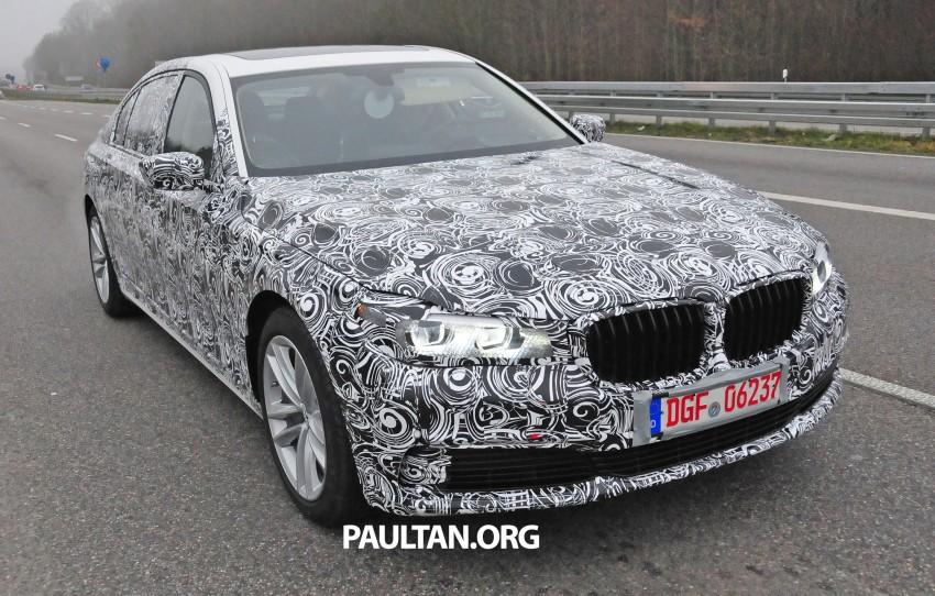 SPYSHOTS: G11 BMW 7 Series mule reveals details Image #292910