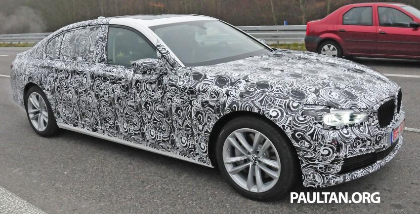 SPYSHOTS: G11 BMW 7 Series mule reveals details Image #292909