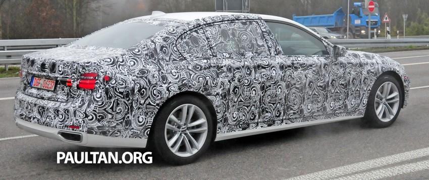 SPYSHOTS: G11 BMW 7 Series mule reveals details Image #292906