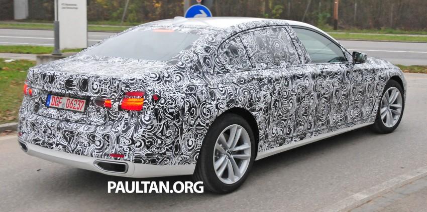 SPYSHOTS: G11 BMW 7 Series mule reveals details Image #292905
