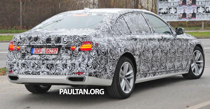 SPYSHOTS: G11 BMW 7 Series mule reveals details Image #292904