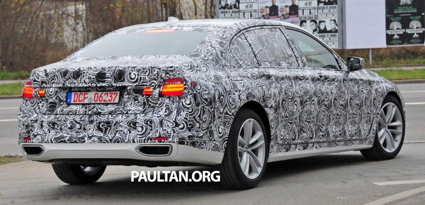 SPYSHOTS: G11 BMW 7 Series mule reveals details Image #292903