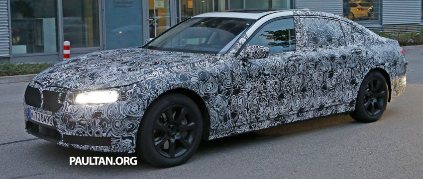 SPYSHOTS: G11 BMW 7-Series to feature new iDrive Image #290985