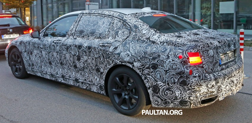 SPYSHOTS: G11 BMW 7-Series to feature new iDrive Image #290983