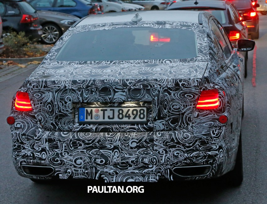 SPYSHOTS: G11 BMW 7-Series to feature new iDrive Image #290982