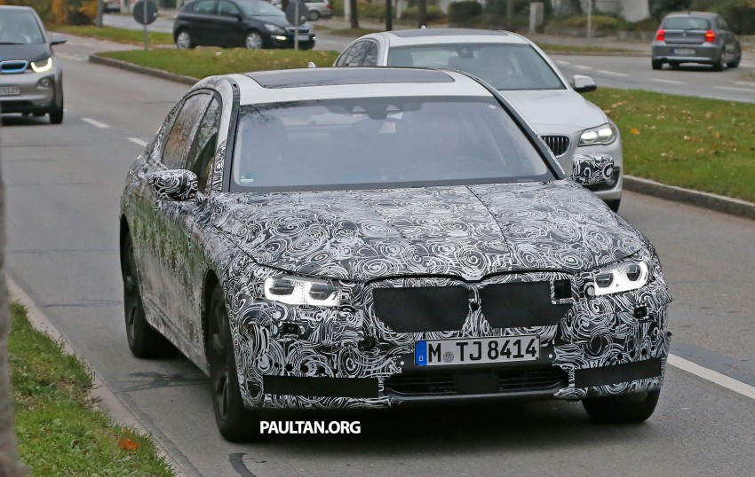SPYSHOTS: G11 BMW 7-Series to feature new iDrive Image #290988