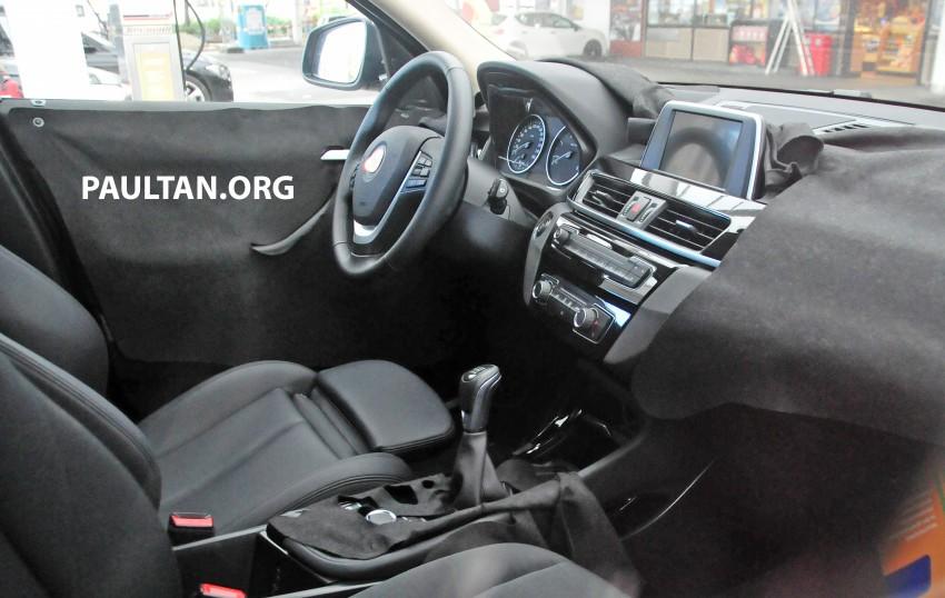 SPYSHOTS: F48 BMW X1 sighted – interior revealed Image #287576