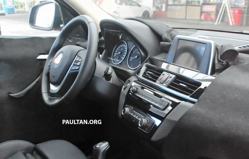 SPYSHOTS: F48 BMW X1 sighted – interior revealed Image #287577
