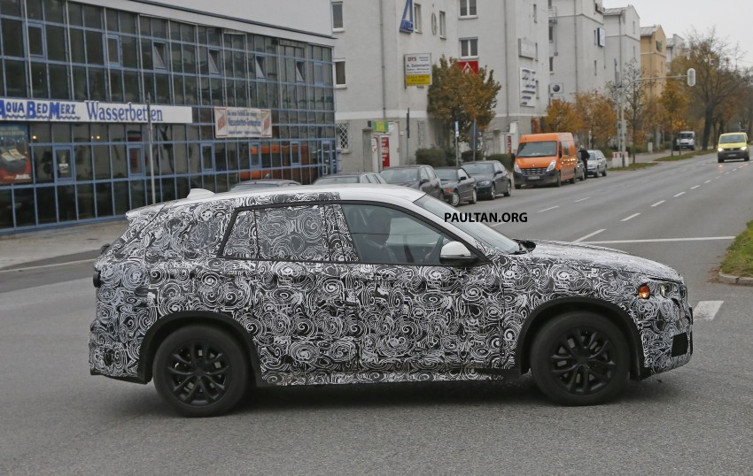 SPYSHOTS: F48 BMW X1 sighted – interior revealed Image #287580