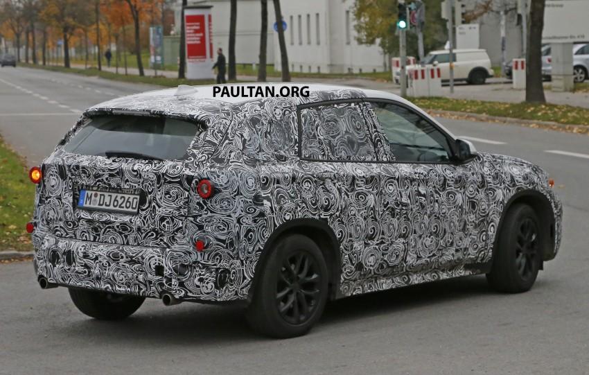 SPYSHOTS: F48 BMW X1 sighted – interior revealed Image #287582