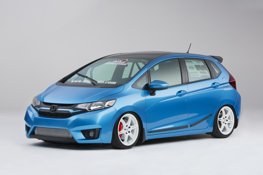 Honda Jazz – nine custom Fits nab award at SEMA Image #285755