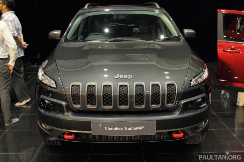 Jeep Cherokee launched in Malaysia, from RM349k Image #292304