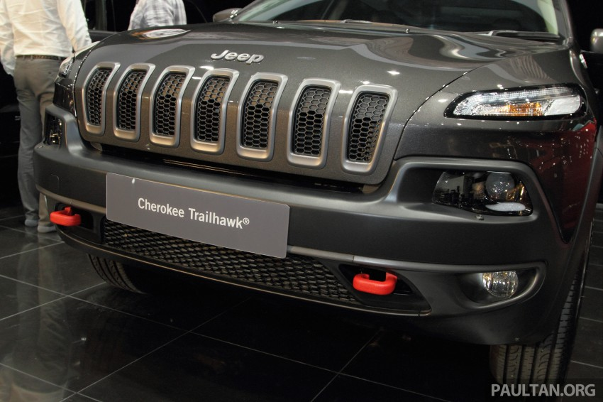 Jeep Cherokee launched in Malaysia, from RM349k Image #292305