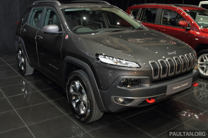 Jeep Cherokee launched in Malaysia, from RM349k Image #292312