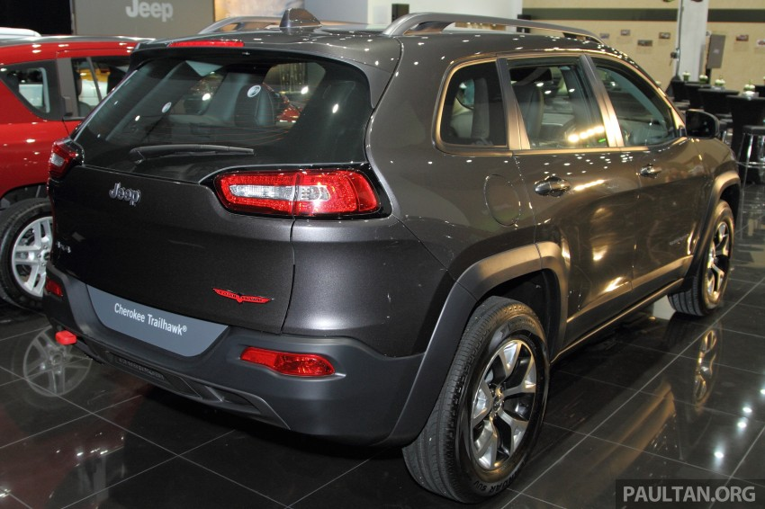 Jeep Cherokee launched in Malaysia, from RM349k Image #292328
